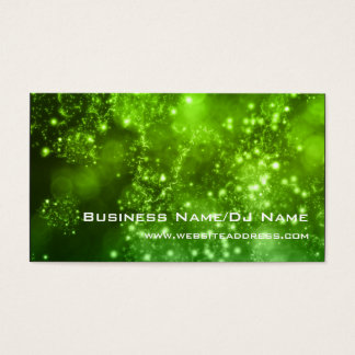 Bokeh 9 (Music or DJ) Business Cards