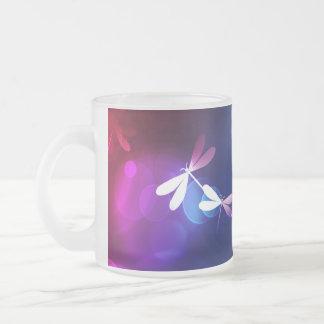 bokeh and dragonflies coffee mug
