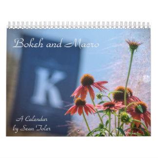 Bokeh and Macro: A Calendar by Sean Toler