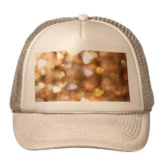 Bokeh Art Heart Trucker Hat