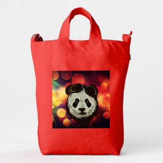 Bokeh Art with Panda Duck Bag