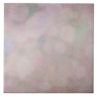 Bokeh Background Purple Mauve Texture Design Large Square Tile