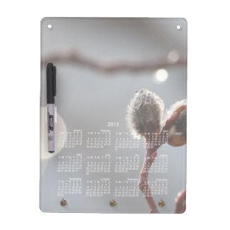 Bokeh Beautiful; 2013 Calendar Dry Erase Board