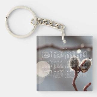 Bokeh Beautiful; 2013 Calendar Keychain