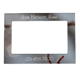 Bokeh Beautiful; Promotional Magnetic Photo Frame