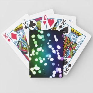 Bokeh Bicycle Playing Cards