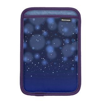 Bokeh Blue Abstract Starry Sky Sleeve For iPad Mini