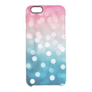 Bokeh Blush Clear iPhone 6/6S Case