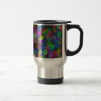 Bokeh Bubbles.png Travel Mug