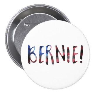 bokeh de las chorreadoras de Bernie Pin Redondo De 3 Pulgadas