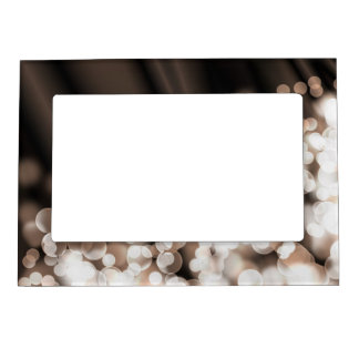 Bokeh effect texture magnetic photo frame