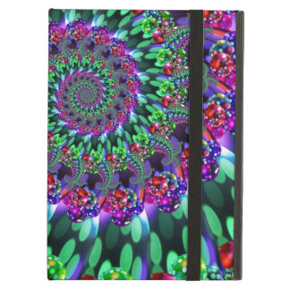 Bokeh Fractal Purple Turquoise Cover For iPad Air