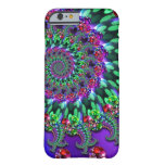 Bokeh Fractal Purple Turquoise iPhone 6 Case