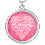 Bokeh Heart Necklaces