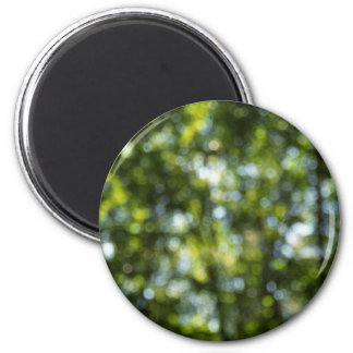 Bokeh in Spring 2 Inch Round Magnet