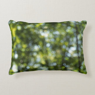 Bokeh in Spring Accent Pillow