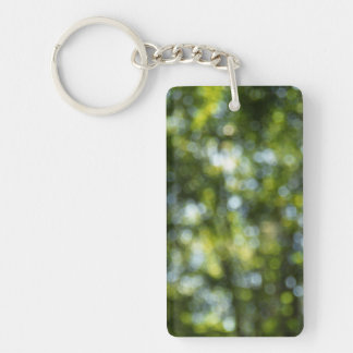 Bokeh in Spring Acrylic Keychain