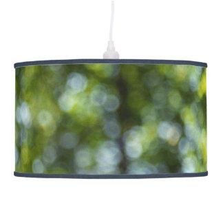 Bokeh in Spring Hanging Lamp