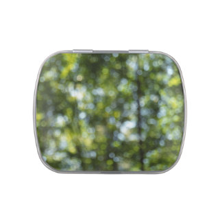 Bokeh in Spring Jelly Belly Candy Tin