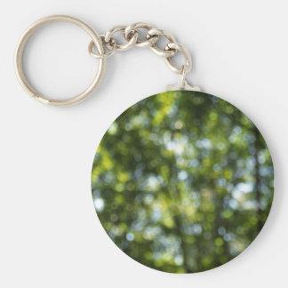Bokeh in Spring Keychain
