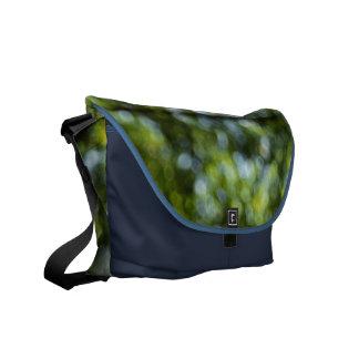 Bokeh in Spring Messenger Bag