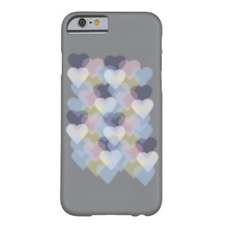 Bokeh Inspired Colorful Hearts Barely There iPhone 6 Case