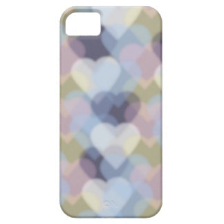 Bokeh Inspired Colorful Hearts iPhone 5 Cases