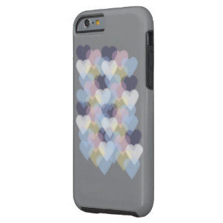 Bokeh Inspired Colorful Hearts Tough iPhone 6 Case