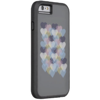 Bokeh Inspired Colorful Hearts Tough Xtreme iPhone 6 Case