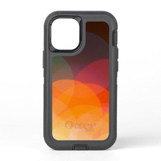 bokeh lights OtterBox defender iPhone 12 mini case