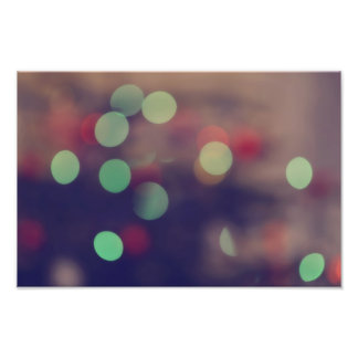Bokeh lights art photo