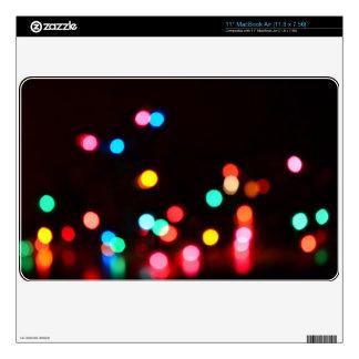 Bokeh Lights Skin For The MacBook