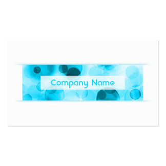 bokeh loyalty punch card Double-Sided standard business cards (Pack of 100)