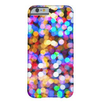 Bokeh multicolor funda de iPhone 6 barely there
