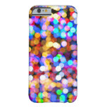 Bokeh multicolor funda de iPhone 6 barely there