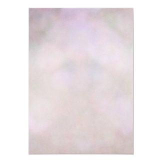 Bokeh Pastel Purple Pink Lavender Abstract 5x7 Paper Invitation Card