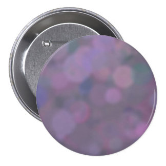 Bokeh Purple Pink Lavender Abstract Background 3 Inch Round Button