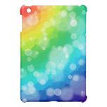 Bokeh Rainbow iPad Mini Case