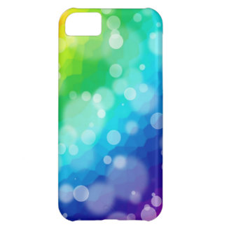 Bokeh Regenbogen-Muster Cover For iPhone 5C