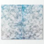 Bokeh Snowflake Glitter Sparkle Gift Wrap