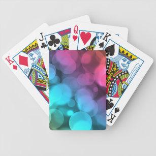 Bokeh Whookeh Bicycle Playing Cards