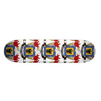 Boker Family Crest Custom Skateboard