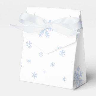 Bokes de los copos de nieve caja para regalo de boda
