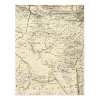 Bokhara, Cabool, &c de Beloochistan Postales