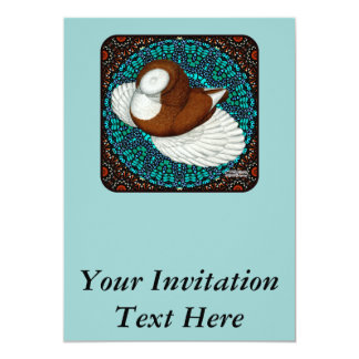 Bokhara Pigeon Fancy Card