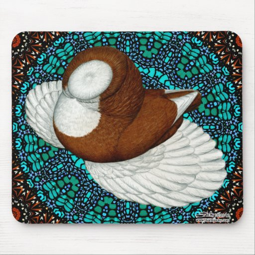 Bokhara Pigeon Fancy Mouse Pads
