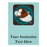 Bokhara Pigeon Fancy Personalized Announcement