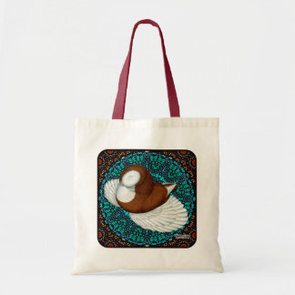 Bokhara Pigeon Fancy Tote Bag