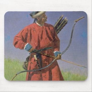 Bokharan Soldier , 1873 Mouse Pad