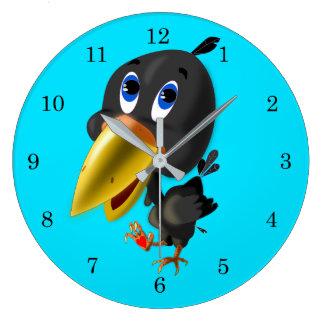 Boko + 1 - Round Wall Clock